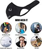 HASAGEI Pioneeryao Sport Maske Trainingsmaske Trainings Atemmaske Radfahren Laufen Outdoor Gesichtsmaske Starter Training Maske für Männer und Frauen - 7